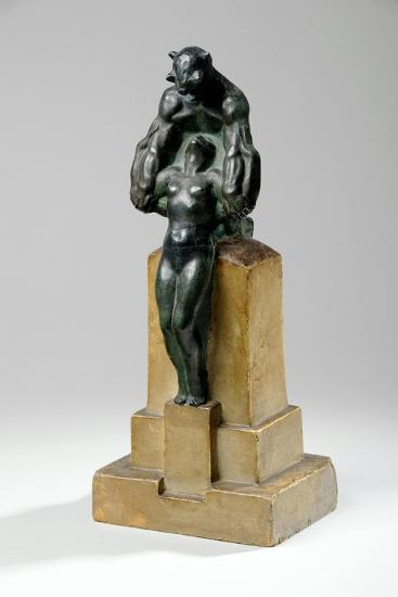 Maquette for a Garden Fountain Group of Nymphs and Satyrs, 1927-Charles Sergeant Jagger-Giclee Print