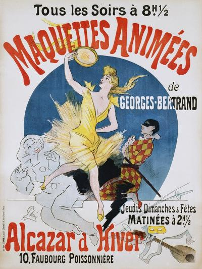 Maquettes Animees De Georges Bertrand Poster-Jules Ch?ret-Giclee Print