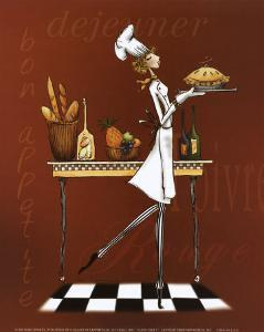 Sassy Chef I by Mara Kinsley