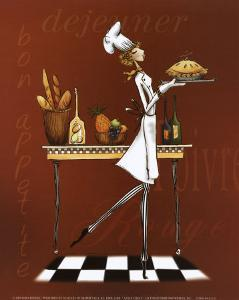 Sassy Chef I by Mara Kinsley