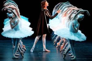 Marat Shemiunov as Prince Siegfried in a Scene from Pyotr Tchaikovsky's Ballet Swan Lake, 2009