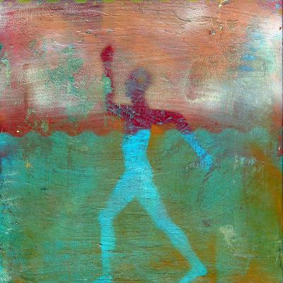 Marathon I Abstract-Ricki Mountain-Art Print