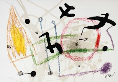 Maravillas #1057-Joan Mir?-Collectable Print