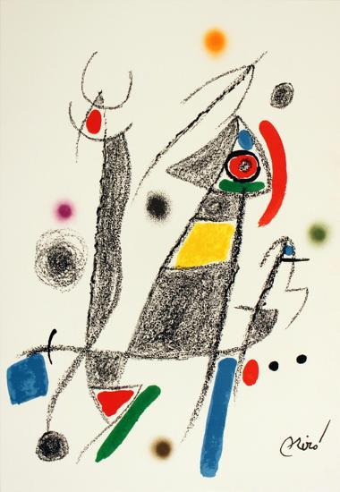 Maravillas #1058-Joan Mir?-Collectable Print