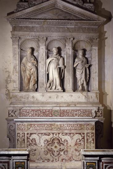 Marble Ancona with Three Saints, Amalfi Cathedral, Campania, Italy, 16th Century--Giclee Print