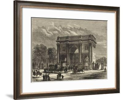 Marble Arch London--Framed Giclee Print