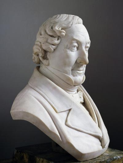 Marble Bust of Gioachino Rossini--Giclee Print