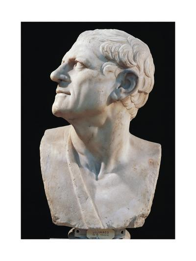Marble Bust of Lysimachus--Giclee Print
