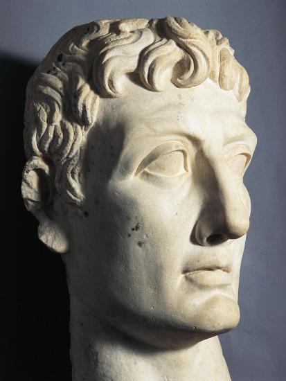 Statue of Roman Emperor Julius Caesar outside the Louvre