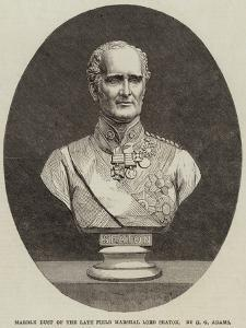 Marble Bust of the Late Field Marshal Lord Seaton