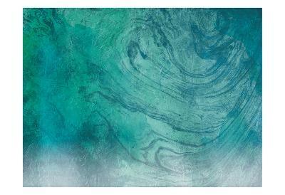 Marble Coastal-Jace Grey-Art Print