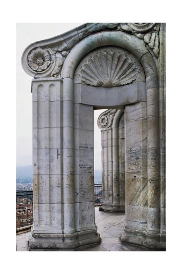Marble Columns, Florence Cathedral--Giclee Print