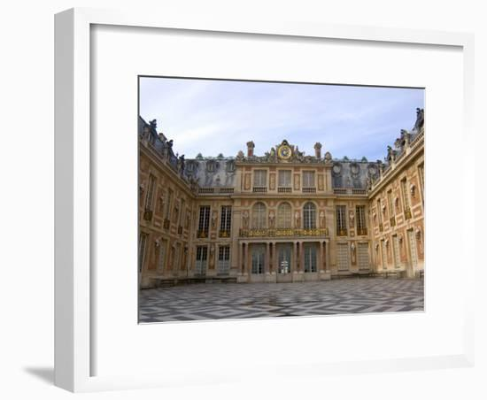 Marble Courtyard, Versailles, France-Lisa S. Engelbrecht-Framed Photographic Print