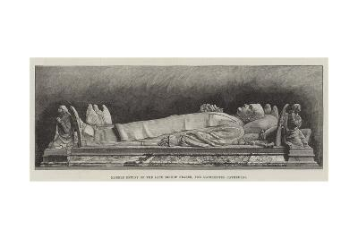 Marble Effigy of the Late Bishop Fraser, for Manchester Cathedral--Giclee Print