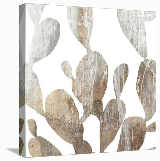 Marble Foliage II-PI Studio-Stretched Canvas Print