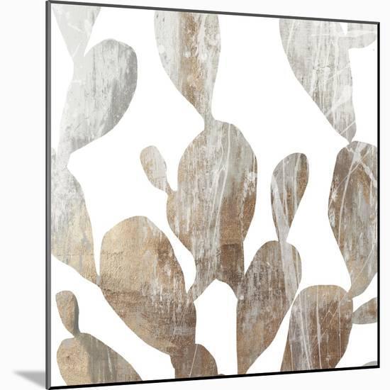 Marble Foliage II-PI Studio-Mounted Art Print