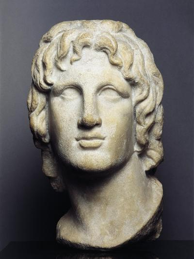 Marble Head of Alexander the Great--Giclee Print