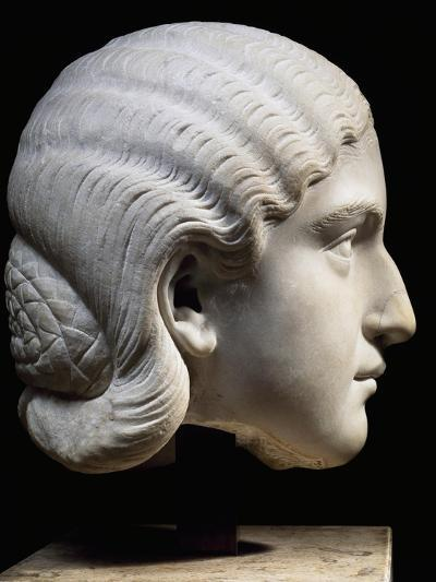 Marble Head of Empress Orbiana, Emperor Alexander Severus' Wife, 225-229--Giclee Print