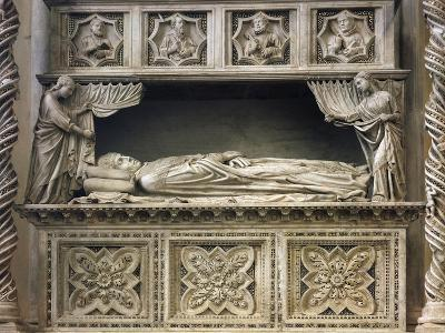 Marble Sepulchral Monument of Pope Benedict XI--Giclee Print