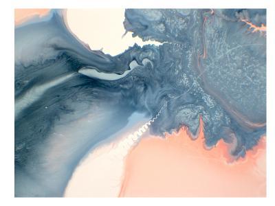 Marble Squiggle-Deb McNaughton-Art Print