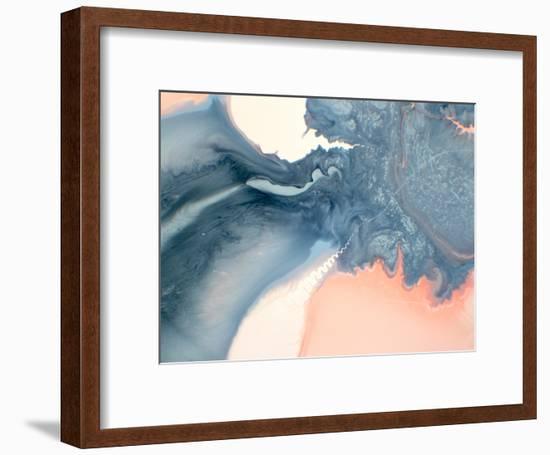 Marble Squiggle-Deb McNaughton-Framed Art Print