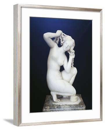 Marble Statue of Aphrodite--Framed Giclee Print