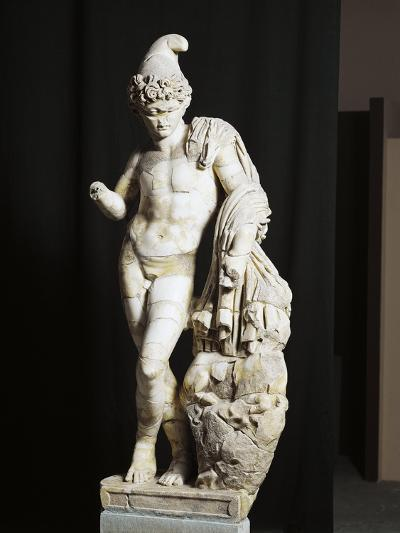 Marble Statue of Attis from Sanctuary of Sarsina, Emilia Romagna Region, Italy--Giclee Print