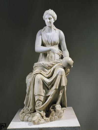 Marble Statue of Muse Urania--Giclee Print