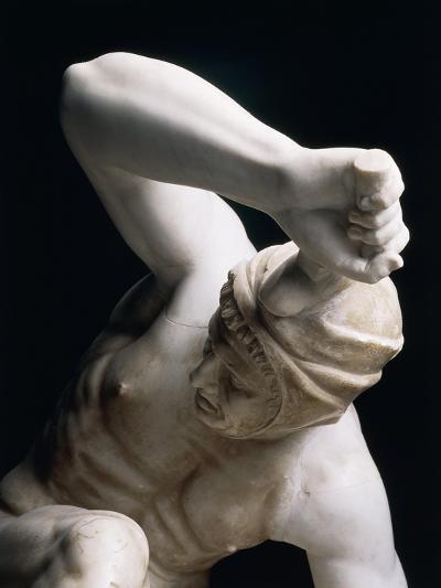 Marble Statue of Persian Soldier, Roman Copy of Pergamon School Original--Giclee Print