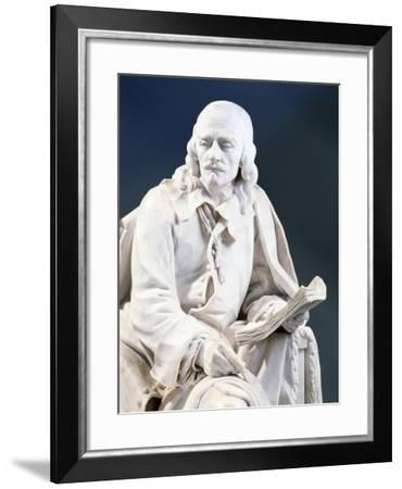 Marble Statue of Pierre Corneille--Framed Giclee Print