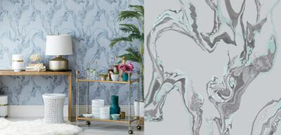 Marble Stream Self-Adhesive Wallpaper