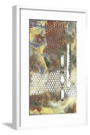 Marbled Pixels II-Jennifer Goldberger-Framed Premium Giclee Print
