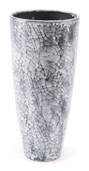 Marbled Sm Vase Black & White--Home Accessories