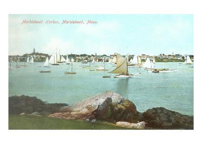 Marblehead Harbor, Marblehead, Mass.--Art Print