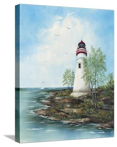 Marblehead Light-Sherry Masters-Stretched Canvas Print