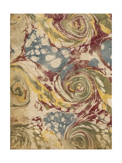 Marbleized I-Vision Studio-Art Print