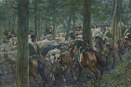 'Marbot's Soldiers Foraging On the Retreat', 1896-Unknown-Giclee Print