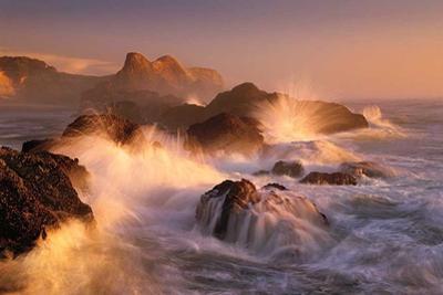 Ocean's Fury by Marc Adamus
