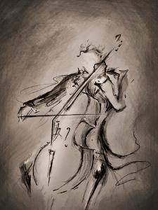 The Cellist 1 by Marc Allante