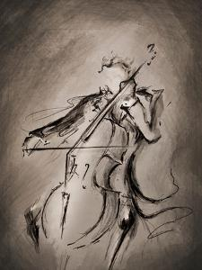 The Cellist 1 by Marc Allante