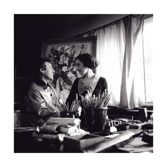 Marc and Bella Chagall, August 1934, Paris, 1934--Giclee Print