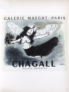 AF 1950 - Galerie Maeght by Marc Chagall