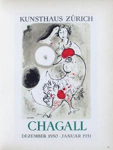 AF 1951 - Kunsthaus Zürich by Marc Chagall