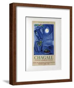 AF 1952 - Ville De Nice by Marc Chagall