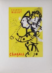 AF 1957 - Galerie Maeght by Marc Chagall