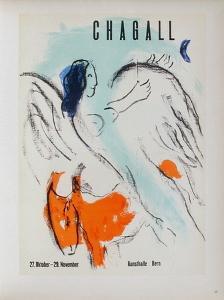 AF 1957 - Kunsthalle Berne by Marc Chagall
