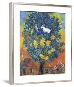 Autumn in the Village by Marc Chagall