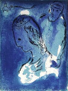 Bible: Abraham et Sarah by Marc Chagall
