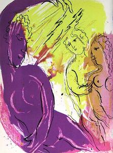 Bible: Ange du Paradis by Marc Chagall