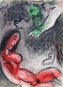 Bible: Eve Maudite Par Dieu by Marc Chagall